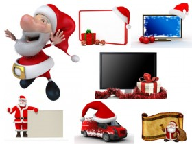Lovely HD picture 3D Christmas