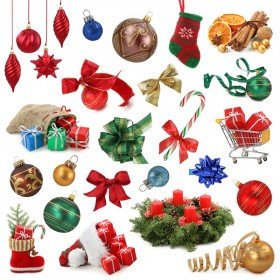 Several Christmas items HD picture