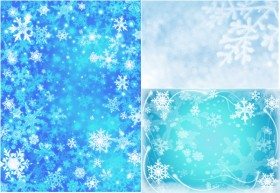 Sky snowflakes HD Big Picture