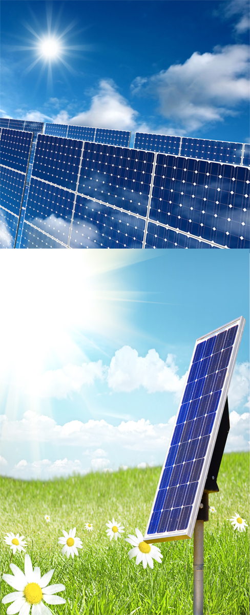 Solar panel high definition picture series one