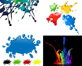 The colorful pigment HD picture