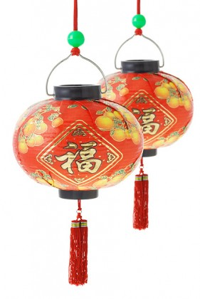 Traditional Chinese lantern picture material  2