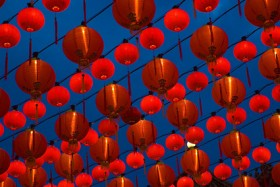 Traditional Chinese lanterns Images  1