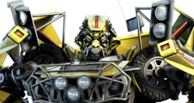 Transformers 2 high precision original poster: Autobot Autobots ambulances Ratchet