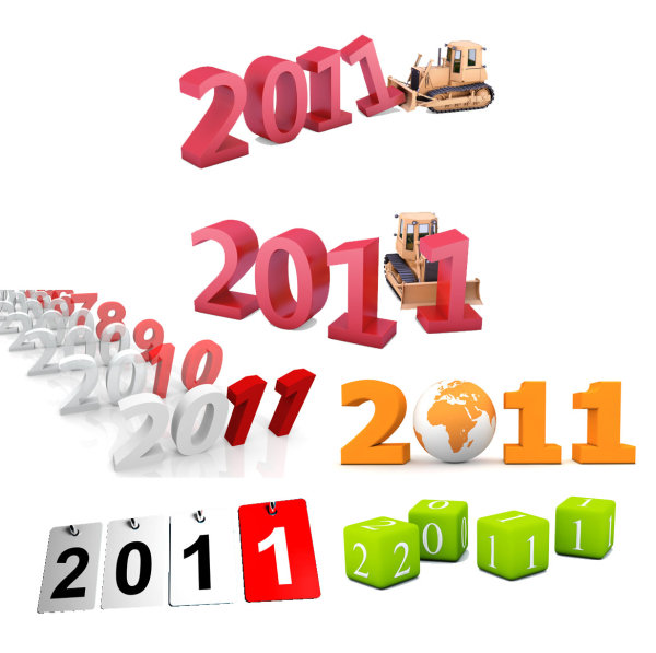 3D 2011 font design   high definition picture