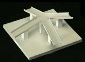 Anti Gravity slopes   illusion molded paper