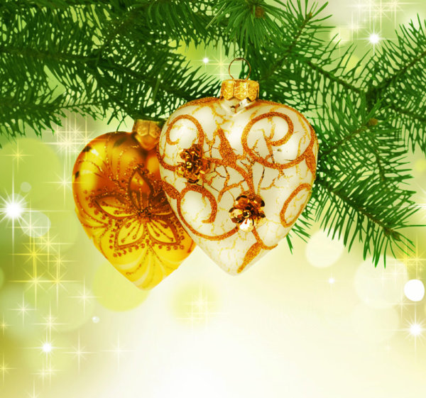 Beautiful Christmas design elements  05   HQ Pictures
