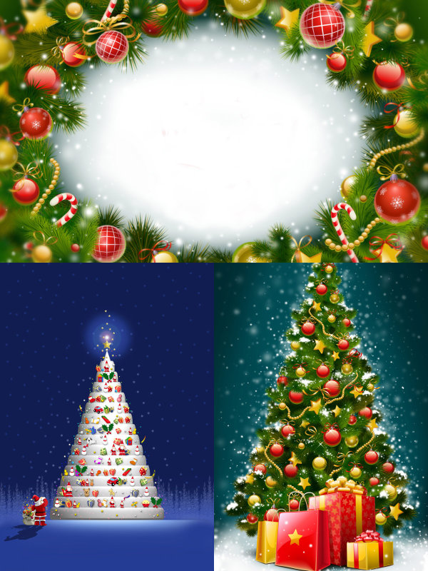 Beautiful Christmas tree   HD Pictures