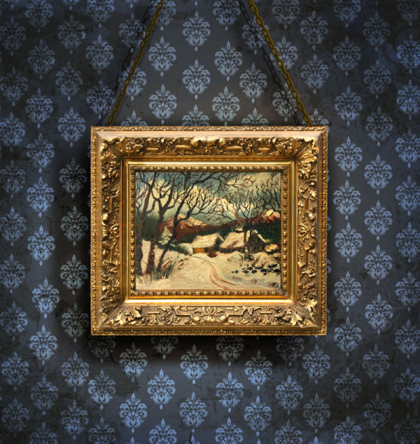 Classical wooden photo frame 04   HQ Pictures
