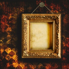 Classical wooden photo frame 05   HQ Pictures