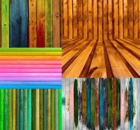 Colored wood   high definition picture
