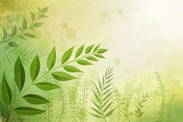 Dream grass background PSD layered material