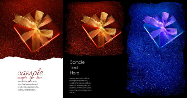 Exquisite Christmas card background   high definition picture
