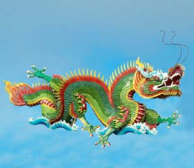 HD picture Chinese dragon sculpture 02 high definition picture