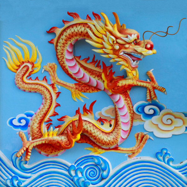 HD picture Chinese dragon sculpture 04 HD Images