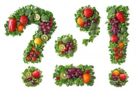 Patchwork of fruits and vegetables symbol high definition picture