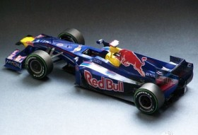 Red Bull 2012F1 chariots 1:24 molded