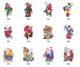 Traditional paper cut patterns 05 HD pictures