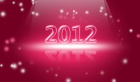 2012 creative font background psd layered material