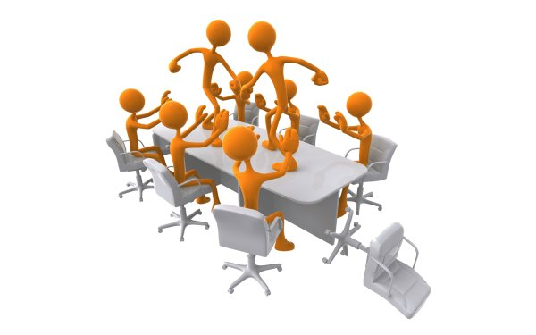 3D business people high definition picture
