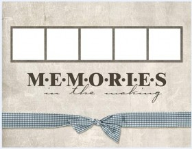 Collage style cute photo frame  1