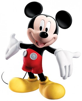 Disney Mickey Mouse psd material