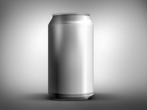 Empty cans psd layered material