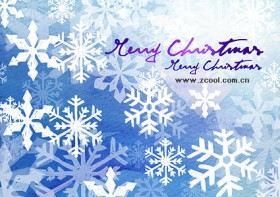 Hand painted Christmas posters psd layered material  1