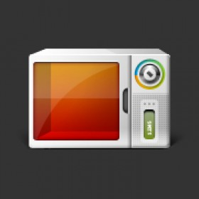 Intelligent home appliances icon psd source file