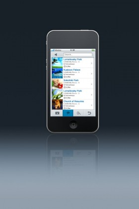 Iphone4s interface design
