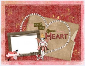 Lovely collage style photo frame  11
