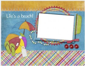 Lovely collage style photo frame  13