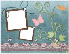 Lovely collage style photo frame  14