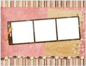 Lovely collage style photo frame  15
