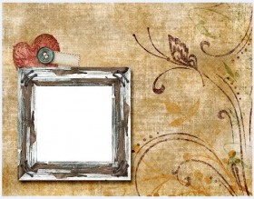 Lovely collage style photo frame  3
