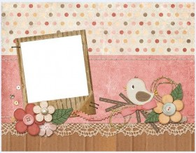 Lovely collage style photo frame  6