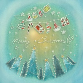 Pastels, hand painted Christmas illustrator PSD layered  1
