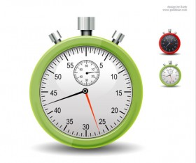 Stopwatch icon psd layered material