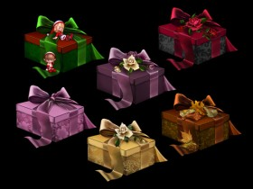 The European classical Gift psd material