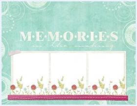 The collage style cute photo frame  7