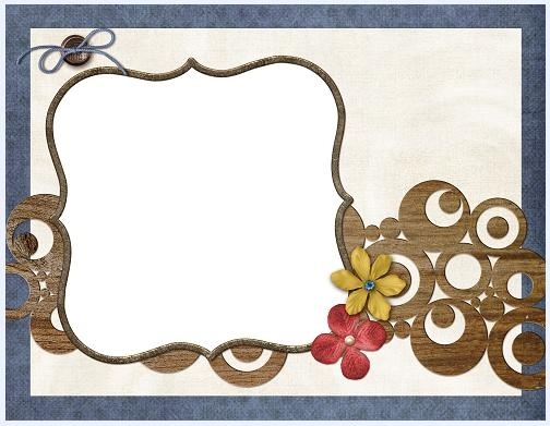The lovely collage style photo frame  16