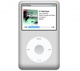 IPodClassic01 psd layered footage