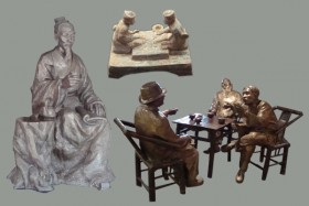 The sculpture psd layered material  2