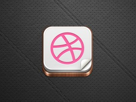 Ball Icon button PSD layered graph