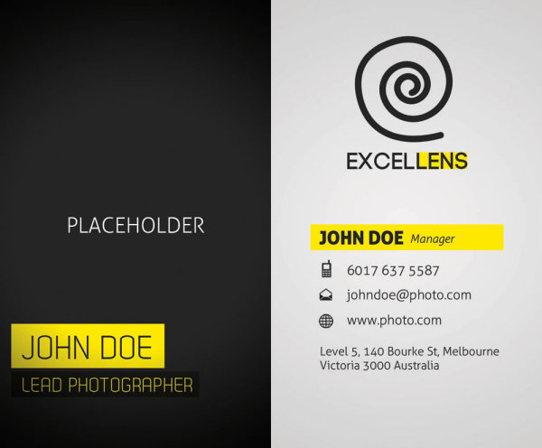 Exquisite business card template 03 psd layered material
