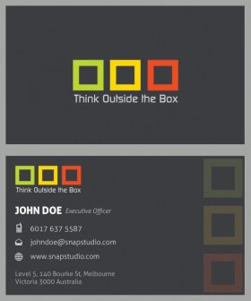 Exquisite business card template 04 psd layered material