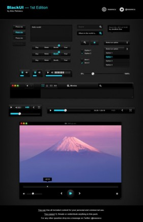 Free PSD interface