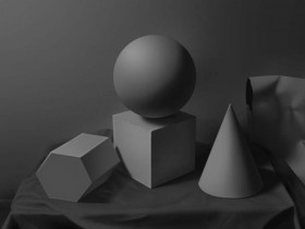 Geometry graphics psd layered material the