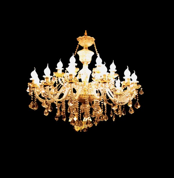 Gorgeous European chandeliers material