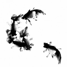 Ink fish psd material 9